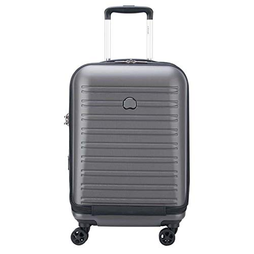 Delsey Paris SEGUR 2.0 Hand Luggage, 55 cm, 42,9 liters, Grey (Grau)