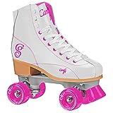 Roller Derby  Rewind Unisex Roller Skates (Size 05) - White/Purple
