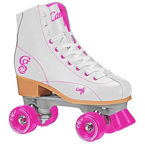 Patins Quad Roller Derby Candi Girl Sabina, Branco, 35