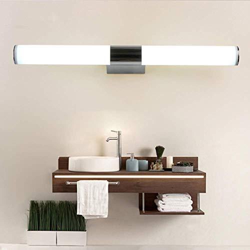 CCHWJX Matte spiegellamp, moderne led-cilinderstang, verticaal, horizontaal, buiswandlamp, kaptafel, wandlamp, 6 W, familiehotel