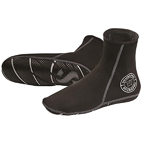 Scubapro Hybrid Socks 2.5mm Black Size S Small