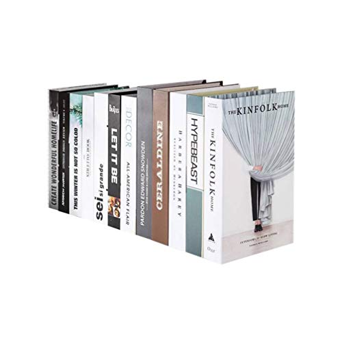 HEALLILY Libro Decorativo Falso Libro Foto Prop Decoración de la Casa para Bar Tea Shop