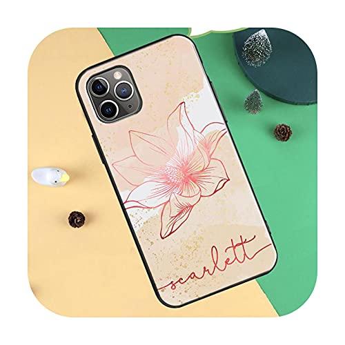 Funda de TPU para iPhone 11 Pro Max XR X XS Max 6S 8 7 Plus SE 2020 12 Pro Max Mini Cover - 12645-Para iPhone 11