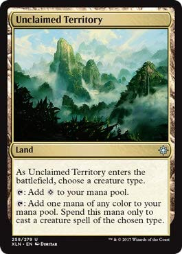 Wizards of the Coast Unclaimed Territory - Ixalan