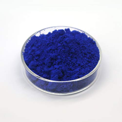 Ultramarine Blue Powdered Color for Paint, Rubber, Ink, Linoleum, Concrete,Plaster, Colorant, Pigment and Building Exterior Walls (1.1 lb)