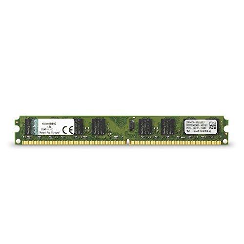 Memória de desktop Kingston ValueRAM 2GB 800MHz DDR2 Não-ECC CL6 DIMM