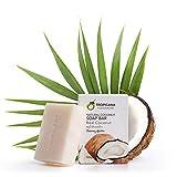 Tropicana Oil Natürliche Kokosnuss Bio Seife 2 x 100g | Natives Kaltgepresstes Bio-Kokosöl |...