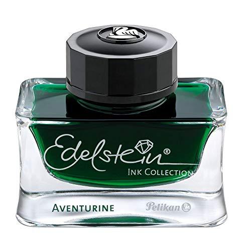 Pelikan Edelstein 339366 - Botella de Tinta 50 ml, aventurine