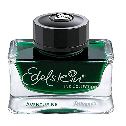 Pelikan Fine-Writing 339366 Edelstein Ink Coll.aventurine (grün)50ml