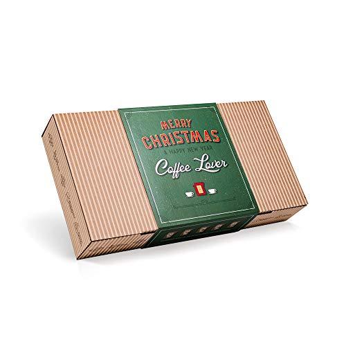 Kaffee Geschenk Set für Weihnachten - Gourmet Geschenkset mit 10 Coffee Brewer aus Aller Welt für Kaffeeliebhaber | Spezialitäten & Gemahlen Weihnachtskaffee | Coffee Geschenkidee für Mann & Frau