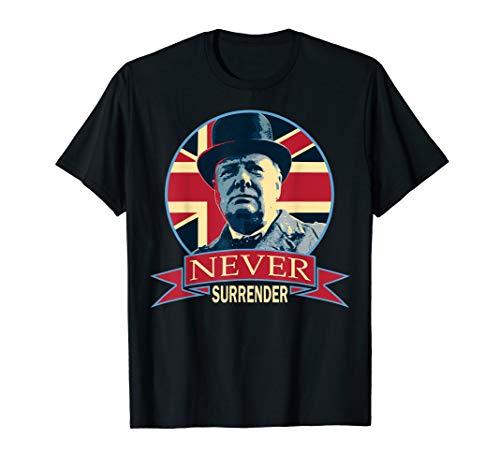 Top churchill never surrender shirt for 2020