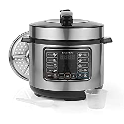 Salter EK2546 Rapid Non-Stick Multi Cooker with Lid, 5 Litre, 1000 W