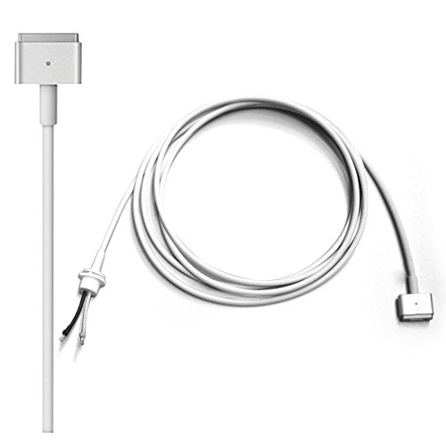 Cable de alimentación del Adaptador de Corriente para Apple MacBook Air 11 13 15 Inch, Cable de Reparación de Repuesto para Magsafe 2 (después de 2012) T Forma