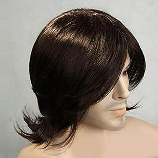 أزياء قصيرة الشعر المستعار للرجال السود