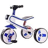 LLCX El Carro de bebé de los niños de Tres Ruedas de Bicicletas Bicicletas Hombres Y Mujeres con Descuento de niños de 1-5 años,Azul