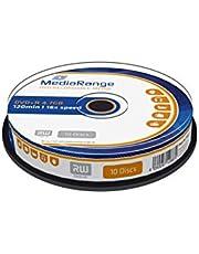 MediaRange MR453 DVD regrabable - DVD+RW vírgenes (4,7 GB, DVD+R, 12 cm, Caja para Pastel)