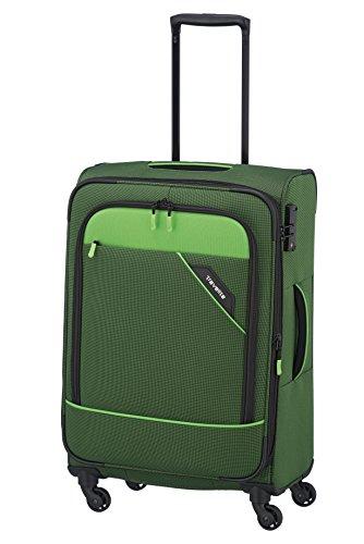 Travelite Derby Rollkoffer, klassisch, robuster und leichter Weichgepäck Trolley mit 4 Rollen...