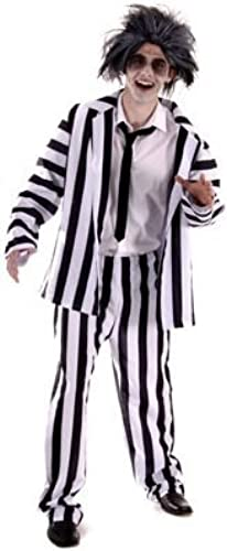 ventas en linea Adult Men's Funny, 80's Film Crazy Ghost Suit Fancy Fancy Fancy Dress Costume. One Talla Costume But Usually Fits Mens Small, Medium and grande. Perfect For a Stag Do or Halloween. by Henbrandt  marcas de moda