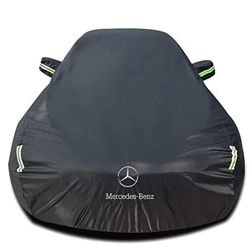Autoabdeckung Kompatibel mit Mercedes-Benz SL 450 Roadster, Wasserdicht Autoabdeckplane Schutzhülle Abdeckung Plane Autoplane Ganzgarage Vollgarage Staubdicht Sonnenschutz Stoff Autogarage