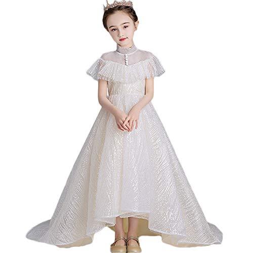 Vestido de la princesa de las chicas Vestidos de pasarela de