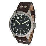 Aristo Watch - Reloj de aviador automático (diámetro: 47 mm)
