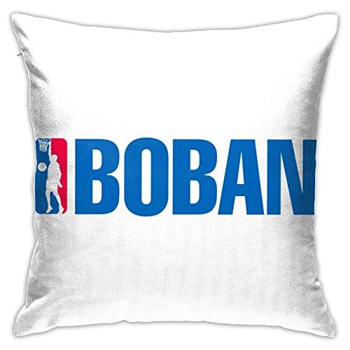 Boban Nba Font - Fundas de almohada