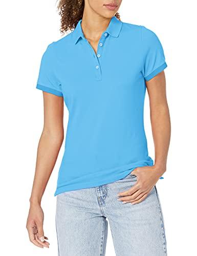 Helly Hansen Polo Crew Pique 2 pour Femme, Couleur Bleuet, Taille L