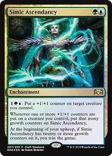 Magic: The Gathering - Simic Ascendancy - Foil Draft Weekend Promo