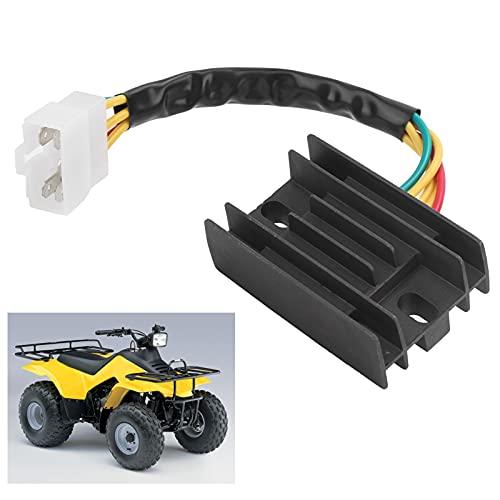 minifinker Puente rectificador de diodos, rectificador electrónico de diodos de silicio, regulador de Voltaje, rectificador, 4 Cables con 32800-19B00 para Sportsman/Scrambler/ATP para Motores de