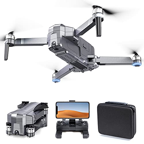 Ruko F11 Foldable GPS Drones with 4K Camera for Adults, Quadcopter with 30Mins Flight Time, Brushless Motor, 5G FPV Transmission, Follow Me, Auto Return Home, Long Control Range Drone for Beginners