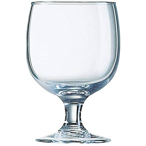 Arcoroc 12 x Amelia Gläserset Weingläser Hartglas klar 25 cl, Ø 7.9 cm