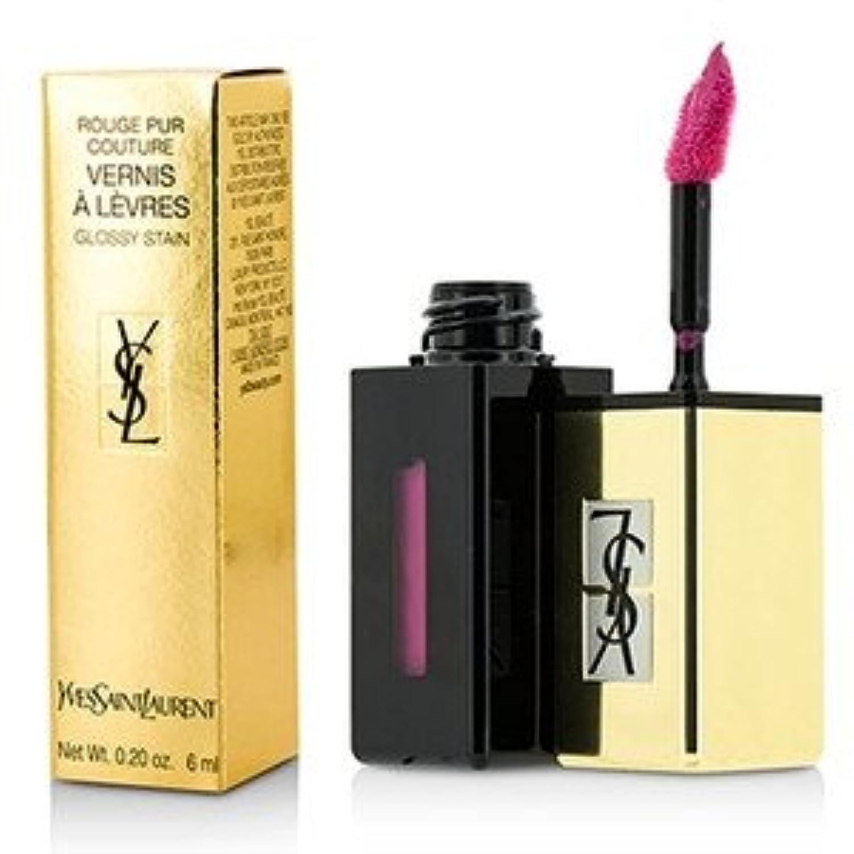 Yves Saint Laurent(イヴサンローラン) ルージュ ピュール クチュール ヴェルニ ポップ ウォーター #206 Misty Pink 6ml/0.2oz [並行輸入品]
