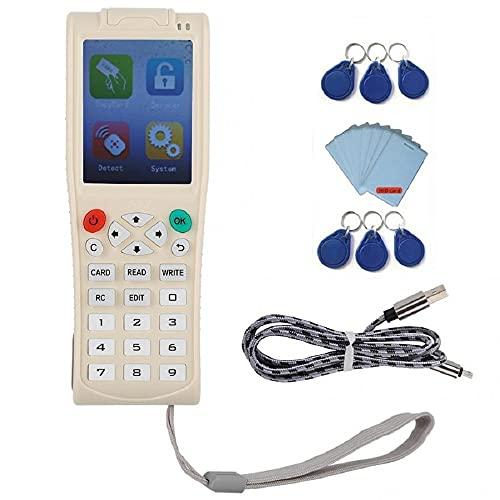 Handheld 13.56MHz Reader de control de acceso RFID Duplicador Duplicador WiFi Decodish Control de acceso completo de cifrado ID /IC...
