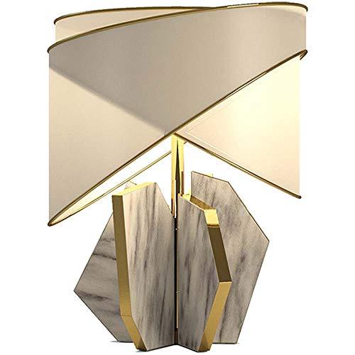 Hogreat Smart led Lámpara Lámpara de Mesa de mármol geométrico Individual Estudio Diseñador Modelo Sitio38x53cm