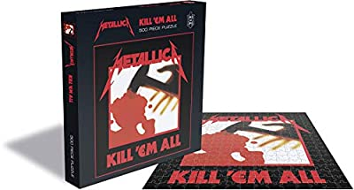 Metallica Kill EM All (500 Piece Jigsaw Puzzle) from Zee Productions