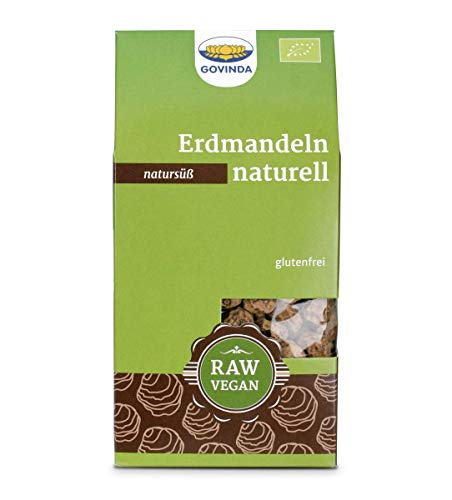 GOVINDA Erdmandeln naturell, 1er Pack (1 x 250 g )