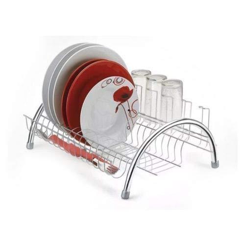 Escorredor Pratos Secador Louça Inox Utensilho Cozinha Copos