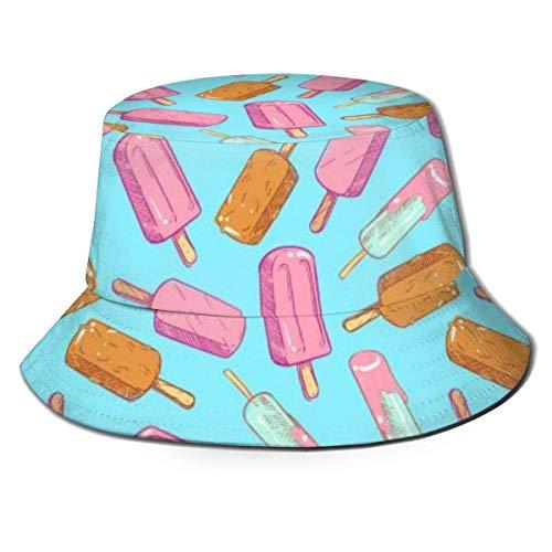 Dale Hill Caps Popsicle - Sombrero de Pescador de Helado Sombrero de Playa de Pescador para Camping, Picnic y Otras Actividades al Aire Libre