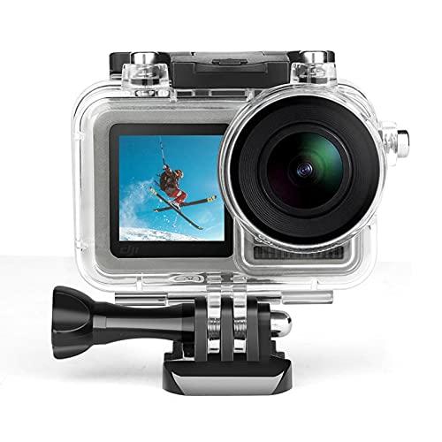 sfadf - Kit de accesorios para carcasa impermeable, funda de protección impermeable para buceo submarino, carcasa impermeable, accesorios de cámara para Osmo Action