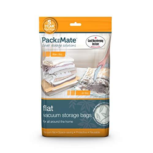 Packmate ® - 2 Bolsas para almacenaje comprimido - Tamaño Jumbo: 90 x 110 cm - para Ropa, edredones tamaño Matrimonio, Ropa de Cama y más