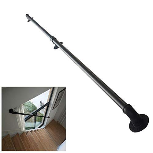 Comif-barkruk metalen leuningen 1-20 voet, leuningen voor wandmontage binnen en buiten, traphuissteun voor ouderen, ronde leuningen voor installatie aan de buitenwand