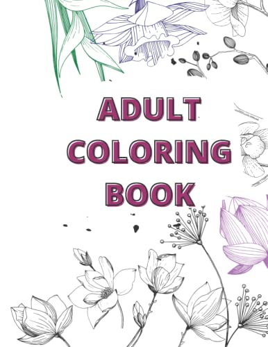 Compare Textbook Prices for Flowers and Patterns Adult Coloring Book  ISBN 9798494041210 by Concepts, Natural Strength