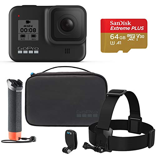 GoPro HERO8 Black Camera with Official GoPro...