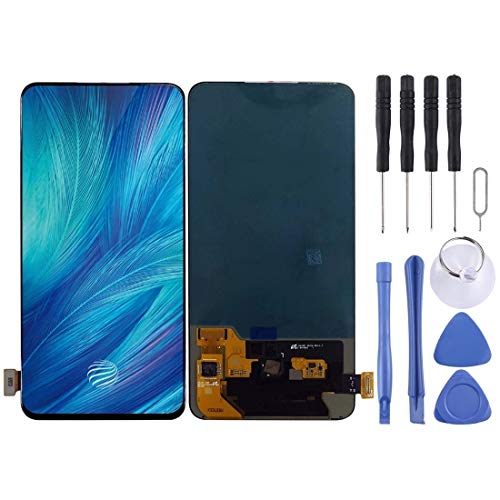 GUPENG Screen Replacement for Vivo, LCD Screen and Digitizer Full Assembly, Fit for Vivo S1 Pro V1832A V1832T (China) / V15 Pro(Black) (Color : Black)