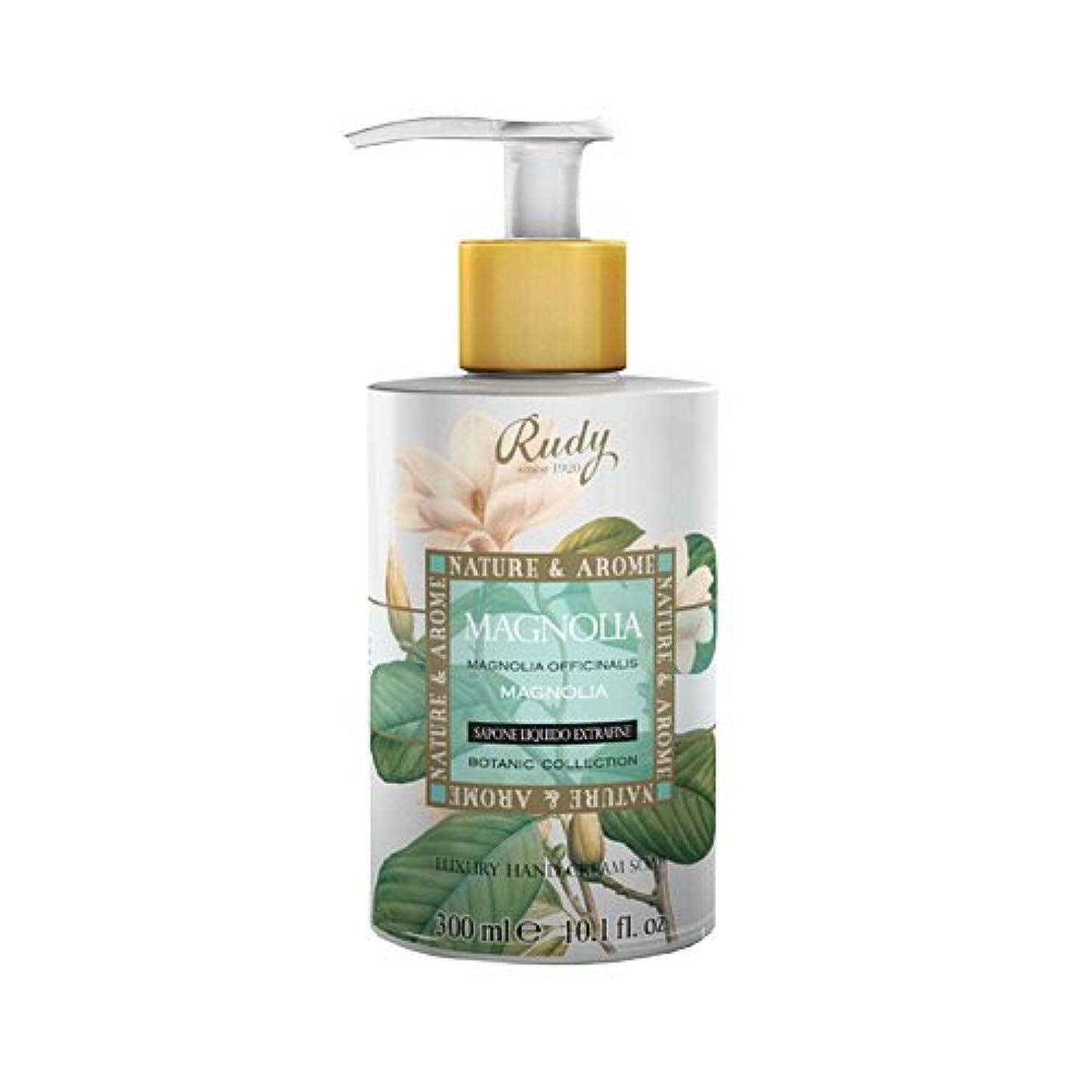 瞳軍重量RUDY Nature&Arome SERIES ルディ ナチュール&アロマ Liquid Soap リキッドソープ マグノリア
