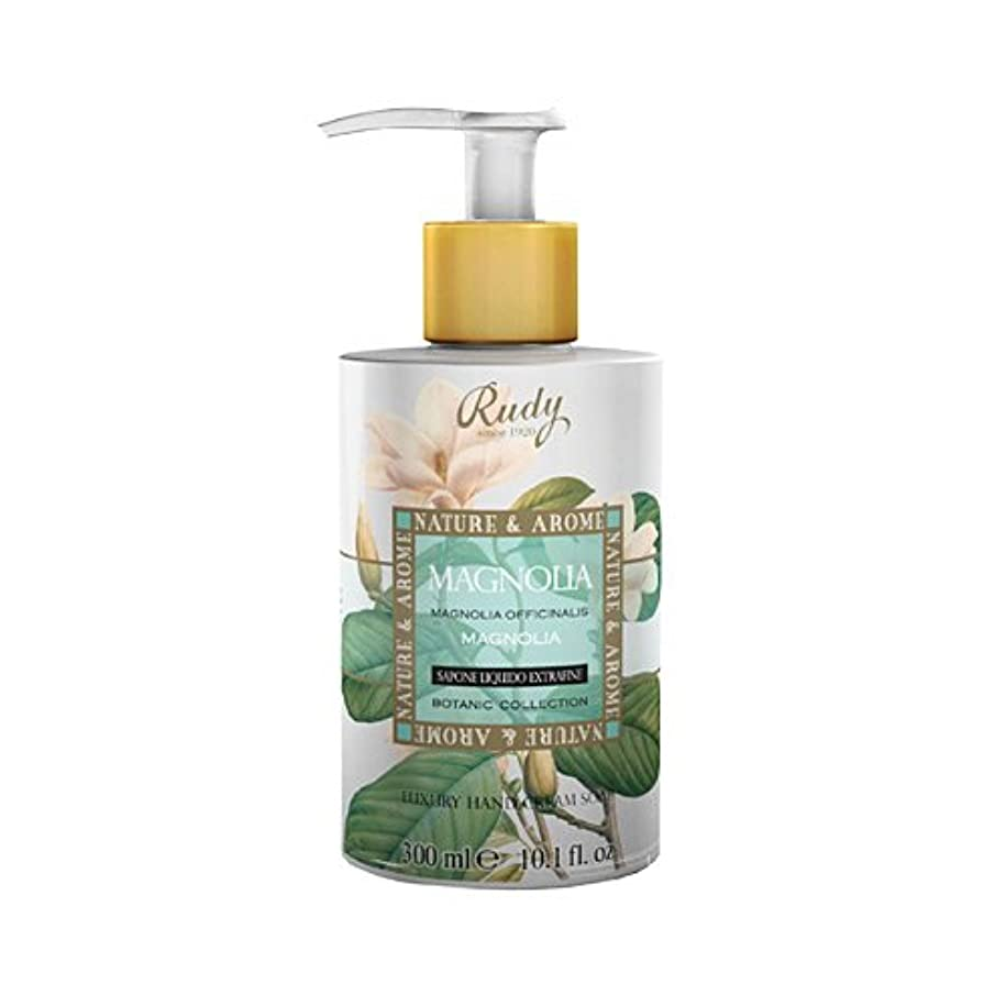 旅桁サスペンドRUDY Nature&Arome SERIES ルディ ナチュール&アロマ Liquid Soap リキッドソープ マグノリア