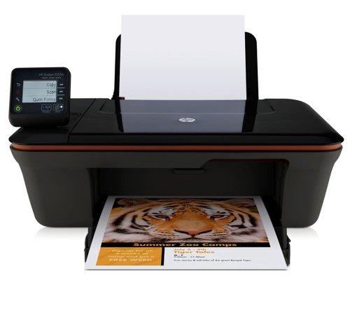 HP Deskjet 3055A e-All-in-One - Impresora multifunción de tinta color (A4, monocromático 5.5 páginas por minuto, color 4 páginas por minuto, USB 2.0, Wifi)