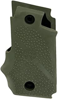 Hogue 38001 SIG Sauer P238 Rubber Grip with Finger Grooves, OD Green