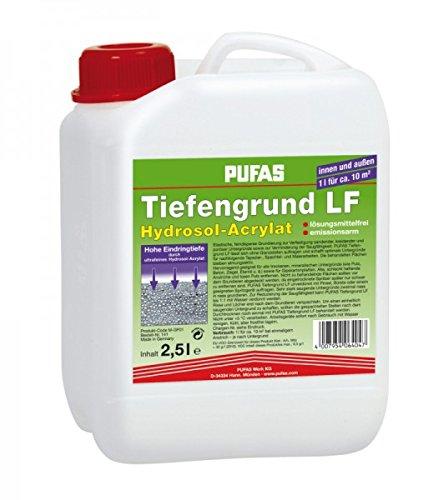 PUFAS Tiefengrund LF Acryl-Hydrosol 2,5 Liter