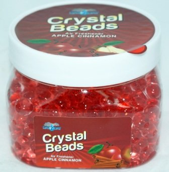 Review Apple Cinnamon Crystal Beads Air Freshener - 8oz